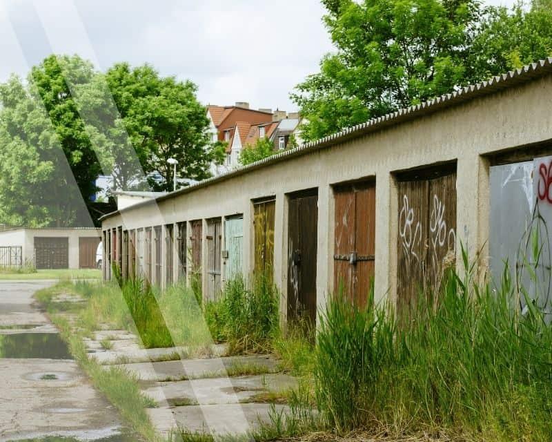 Abbruch Garage Garagenhof