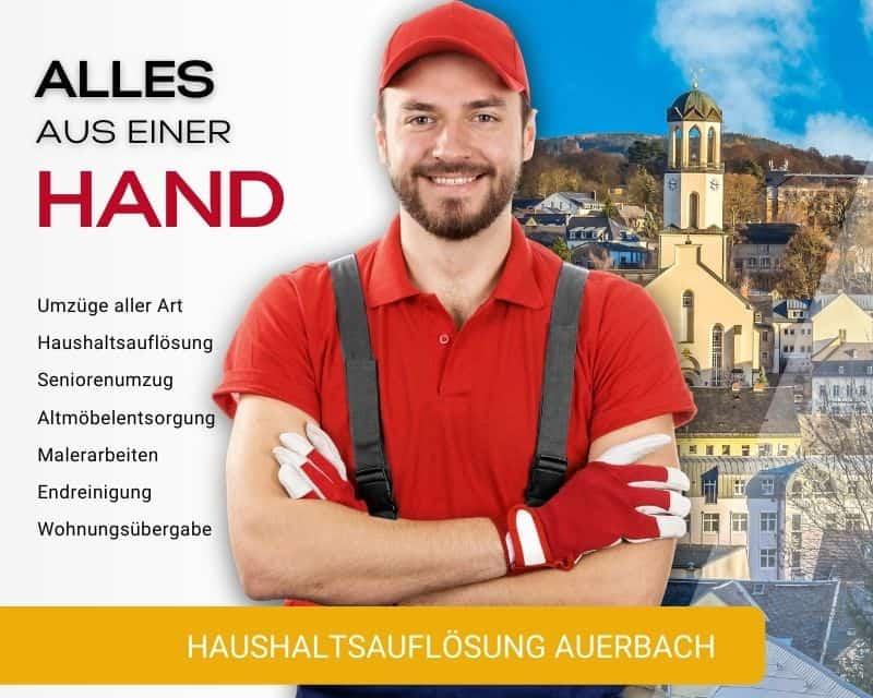 Haushaltsauflösung Auerbach Entrümpelung