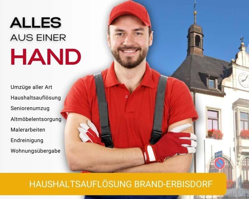 Haushaltsauflösung Brand-Erbisdorf Entrümpelung