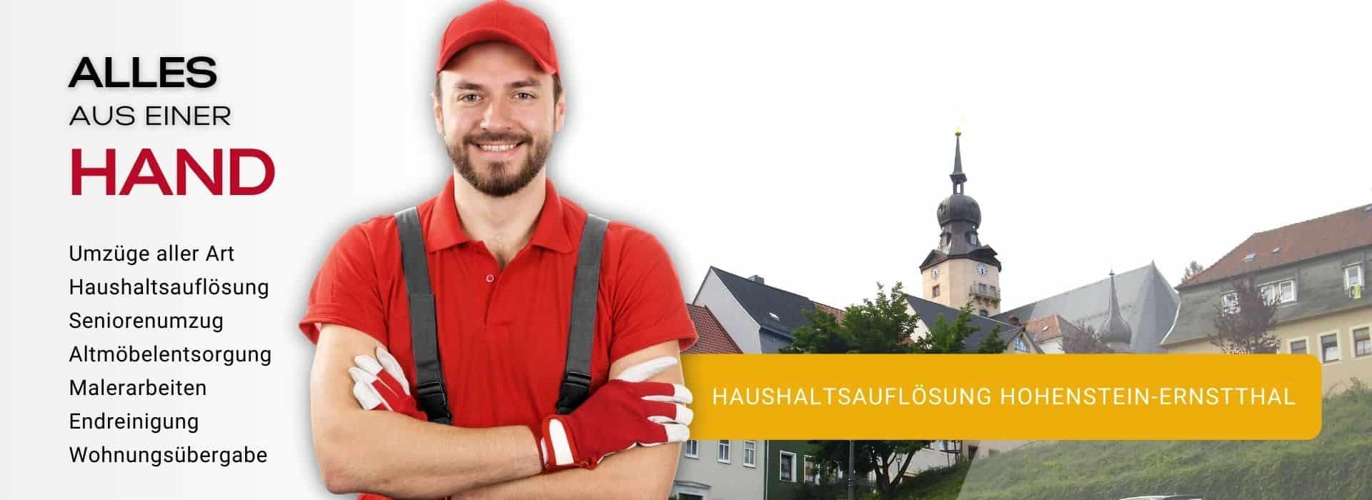Haushaltsauflösung Hohenstein-Enstthal Entrümpelung