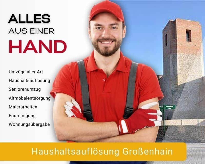 Haushaltsauflösung Großenhain Entrümpelung
