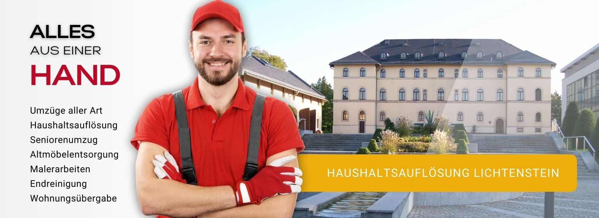 Haushaltsauflösung Lichtenstein Entrümpelung